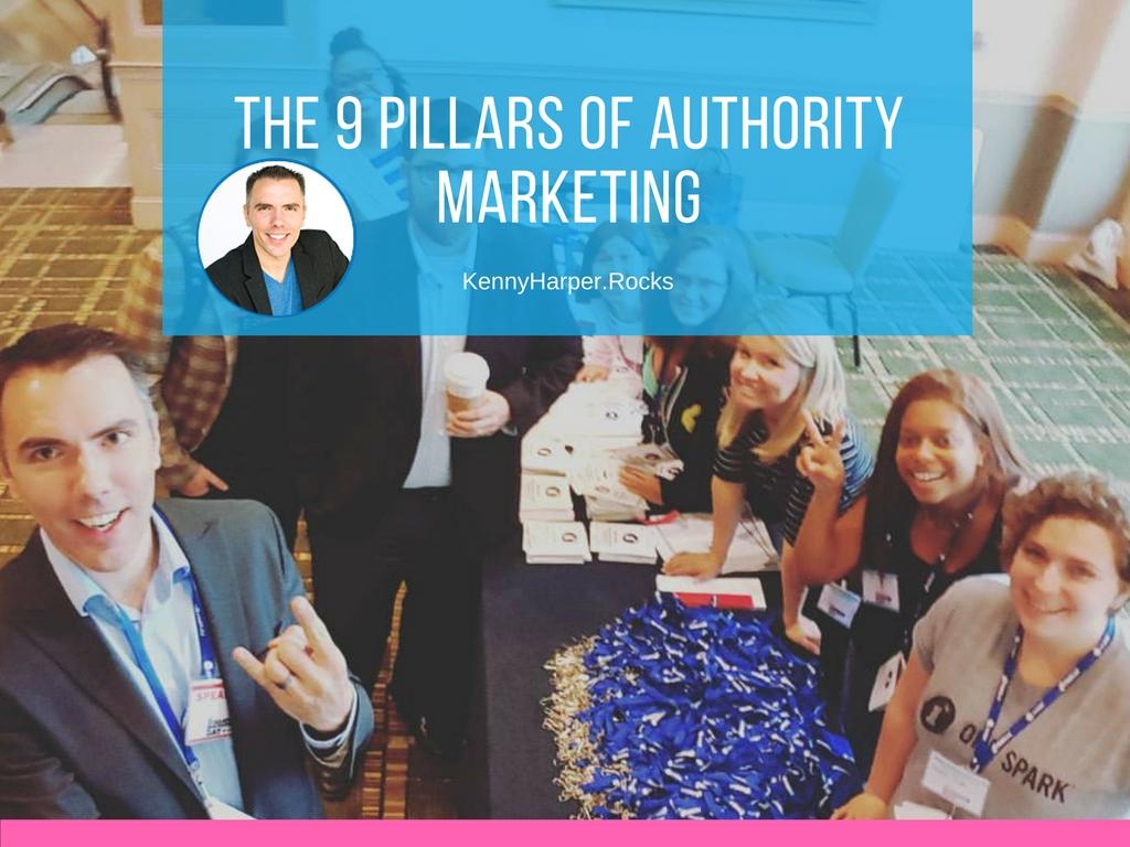 The 9 pillars of authority marketing