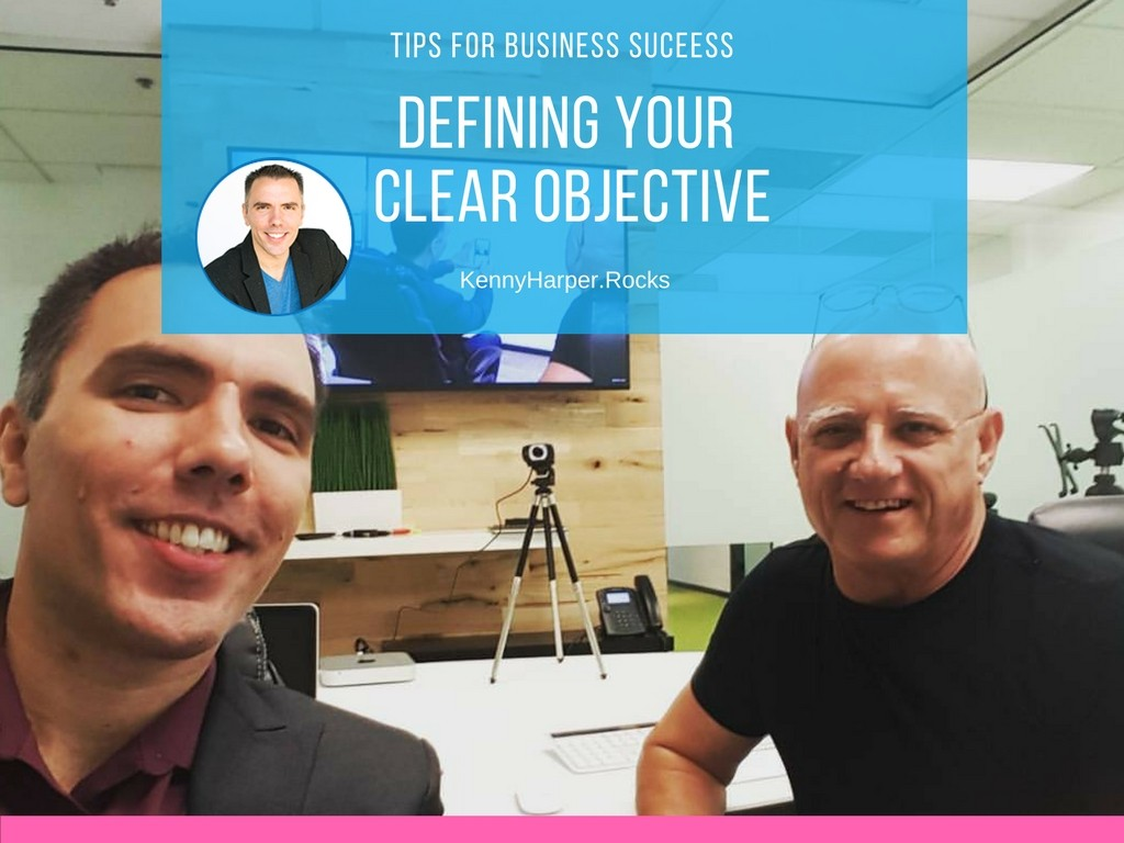 Defining your clear objective