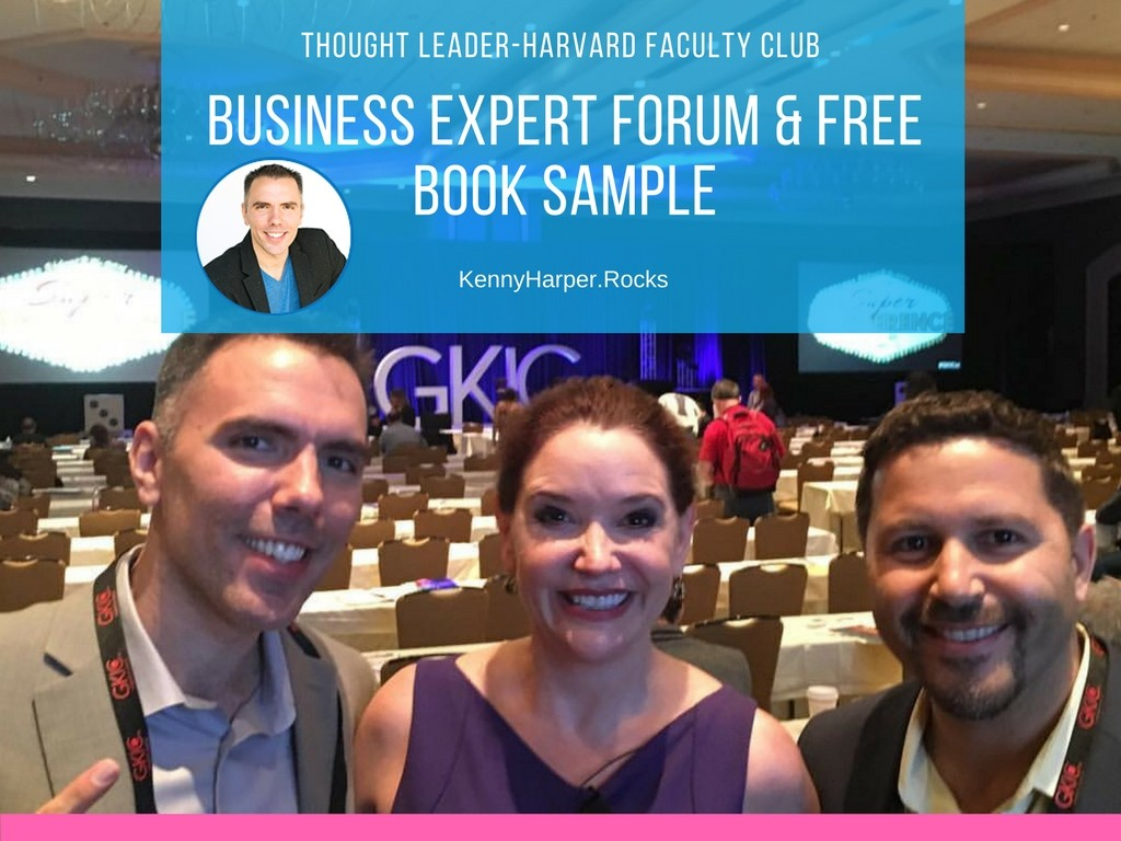 Business Expert Forum and Free Book Sample
