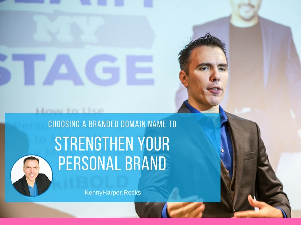Choosing a Branded Domain Name to Strengthen Your Personal Brand