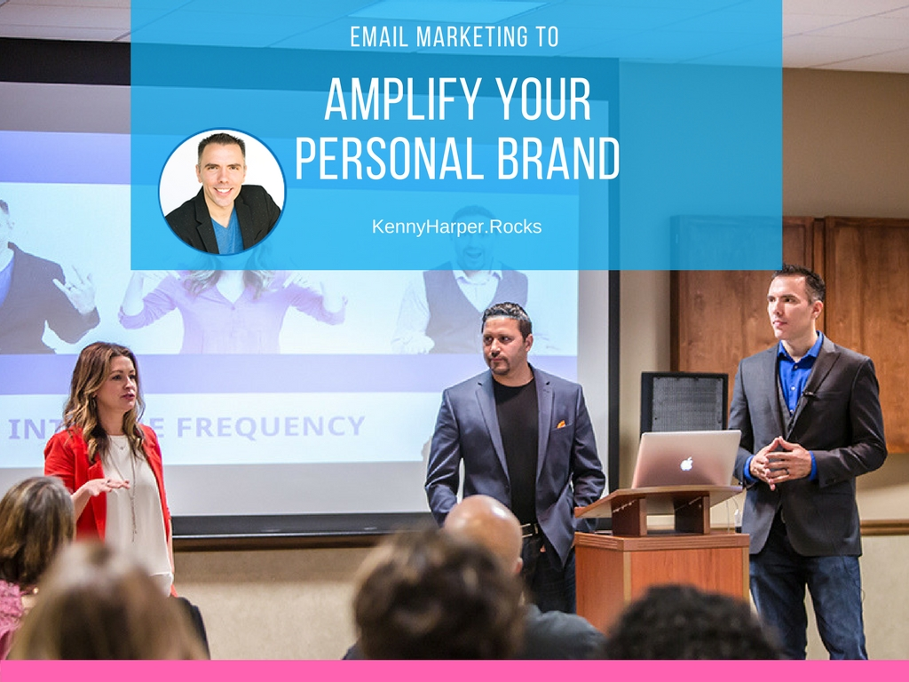 Email marketing to amplify your personal brand