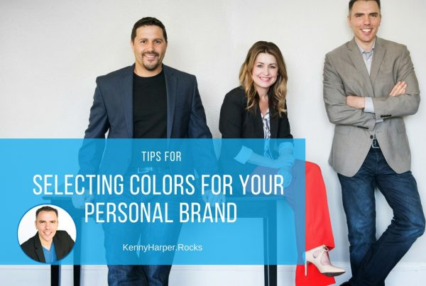 Tips for selecting colors for your personal brand