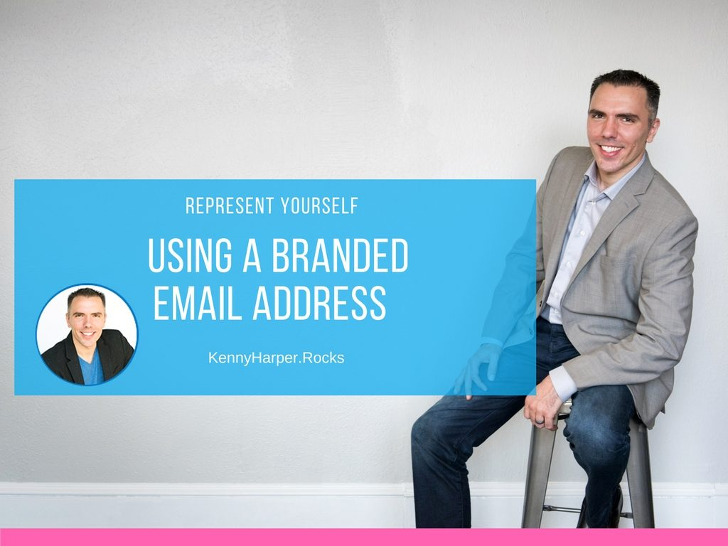Use a Branded Email to Represent Yourself