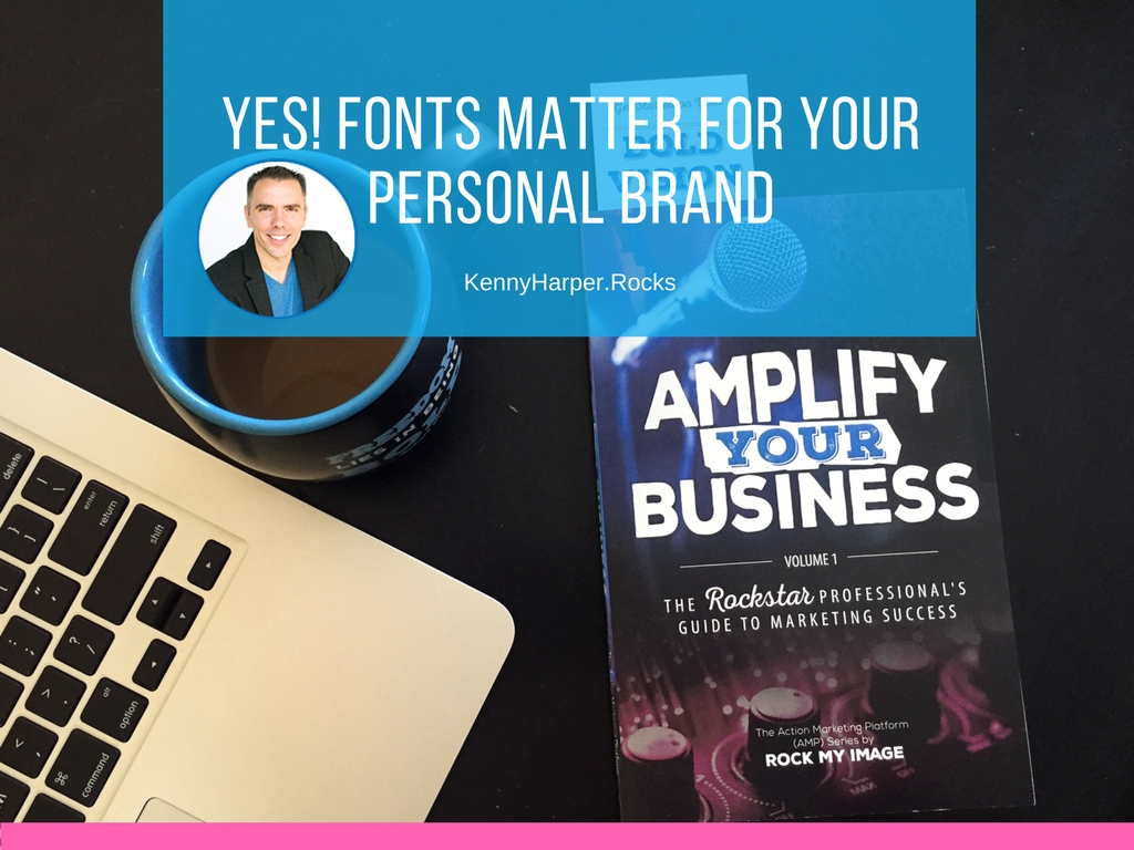 Yes! Fonts matter for your personal brand