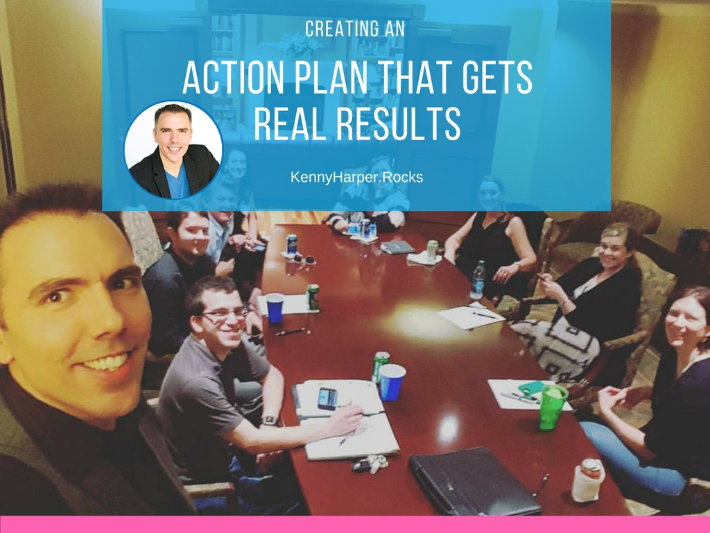Creating an action plan that gets real results