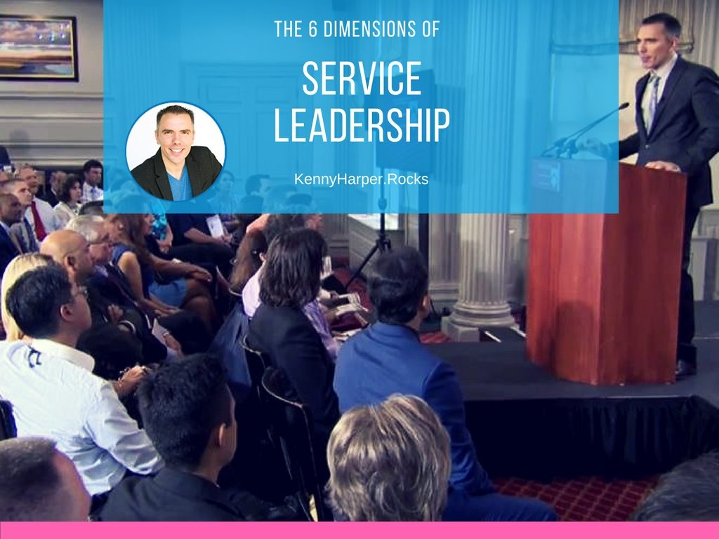 The 6 dimensions of service leadership
