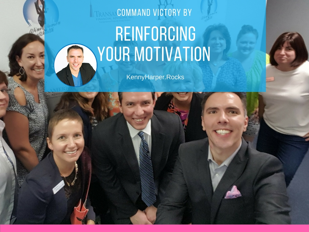 Command victory by reinforcing your motivation