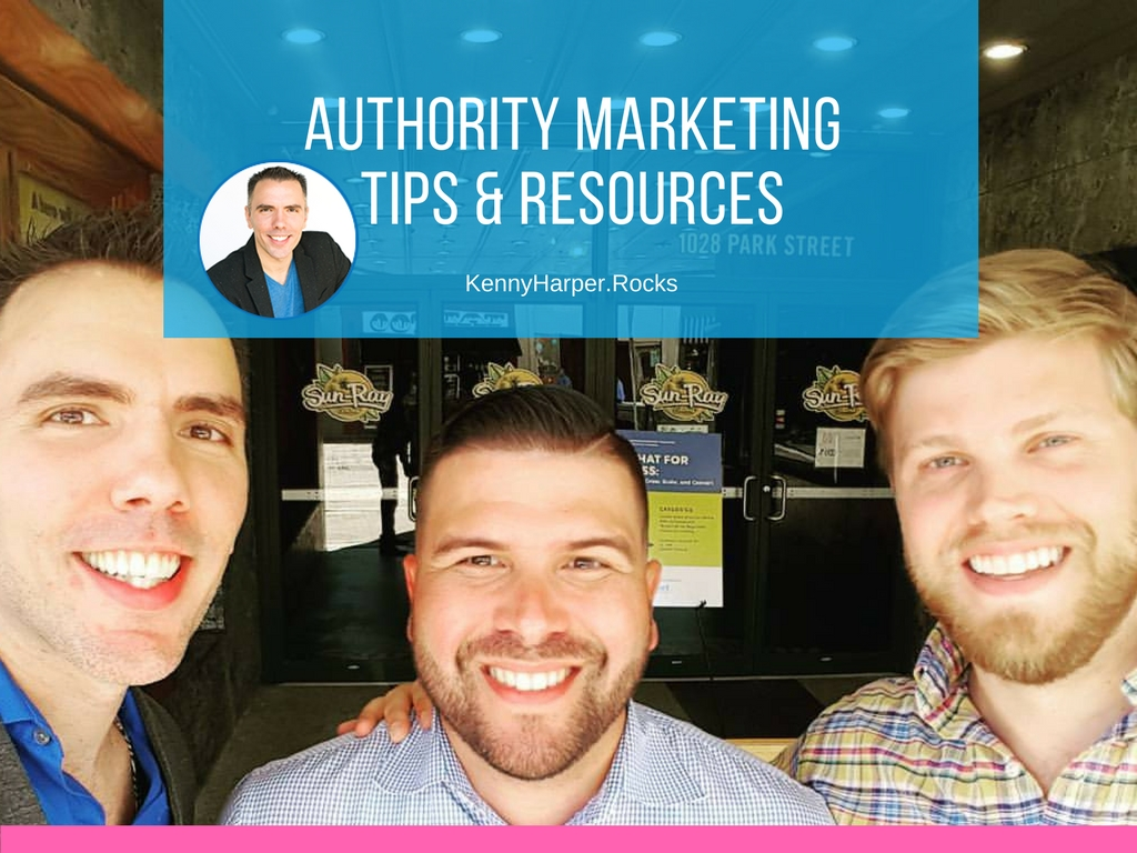Authority marketing tips and resources