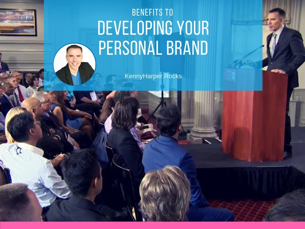 Benefits to developing your personal brand
