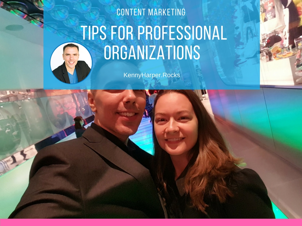 content marketing tips for professional organization