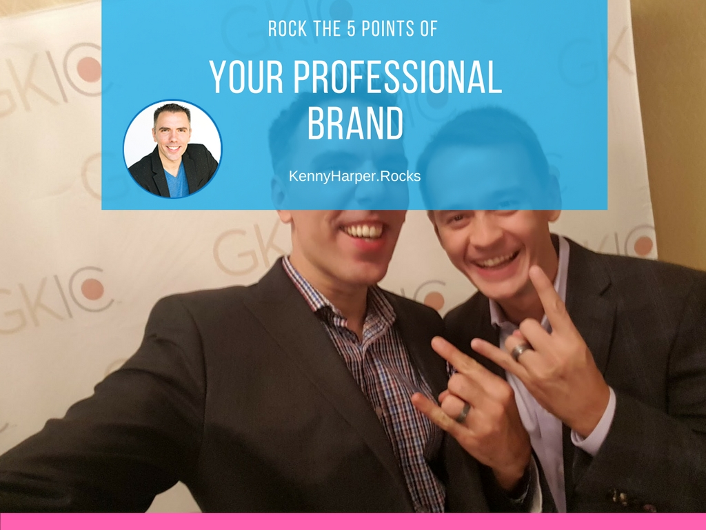 Rock the 5 points of your professional brand