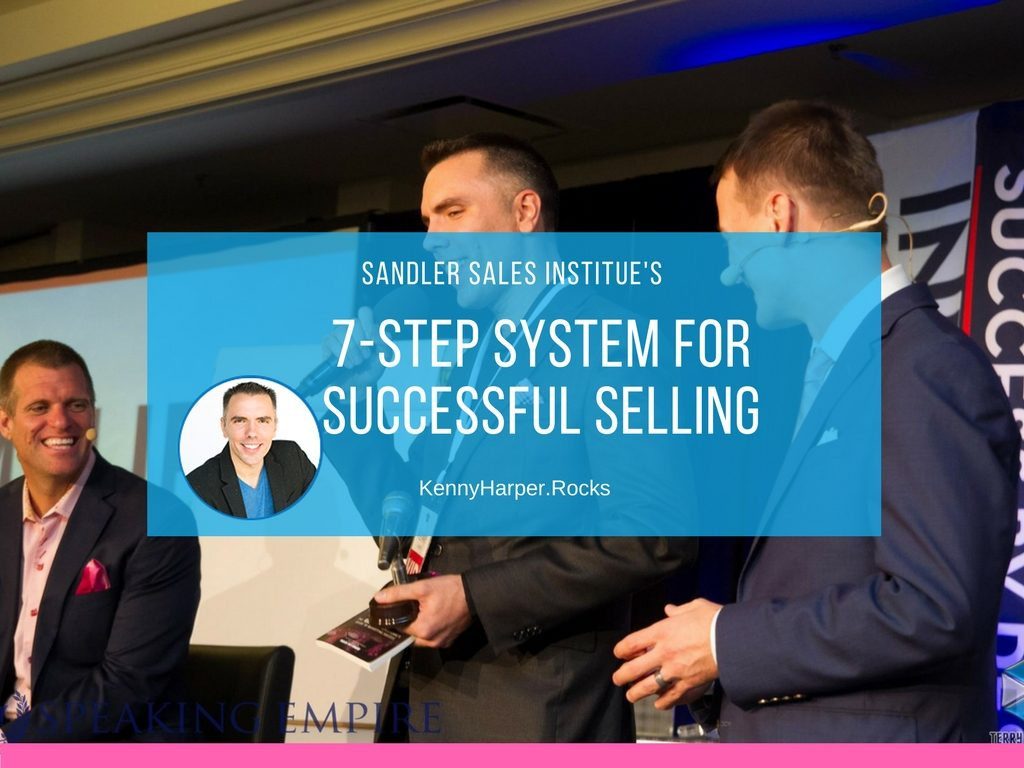 Sandler sales institutes 7 step system for successful learning
