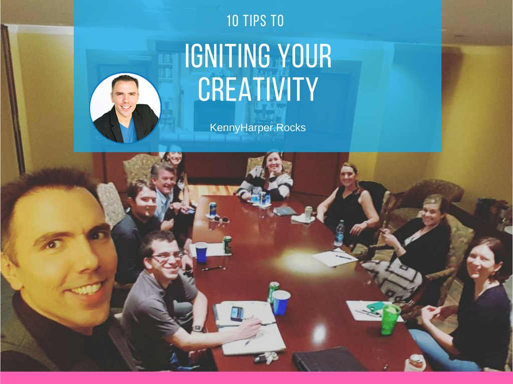 10 tips to igniting your creativity