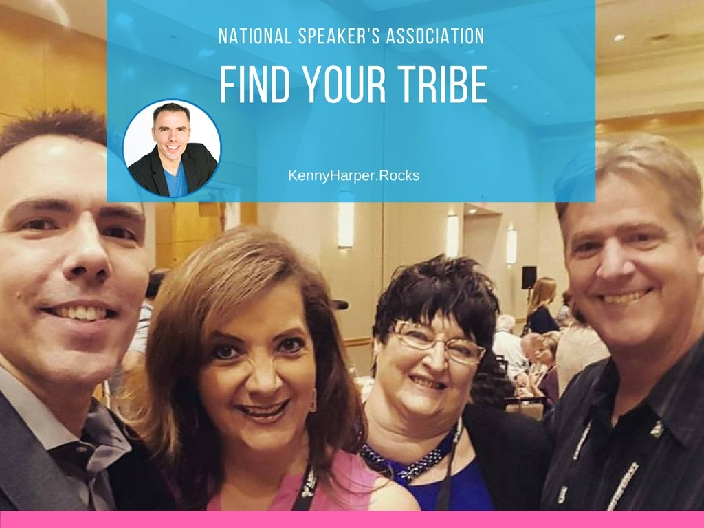 National Speakers Association- find your tribe
