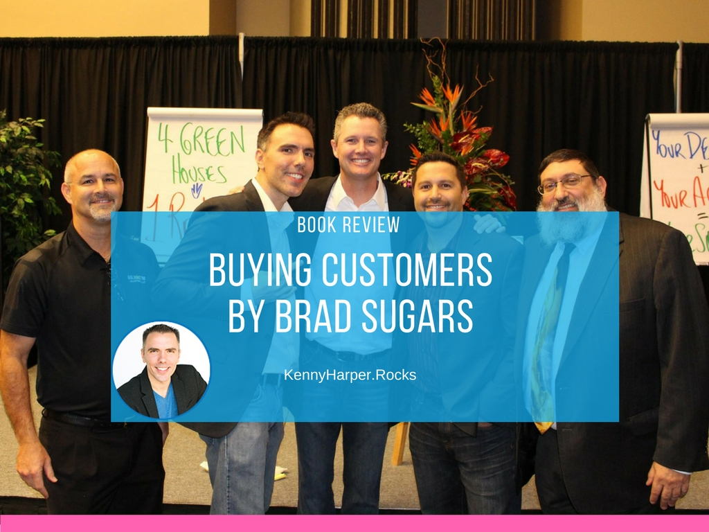 Book review buying customers by Brad Sugars