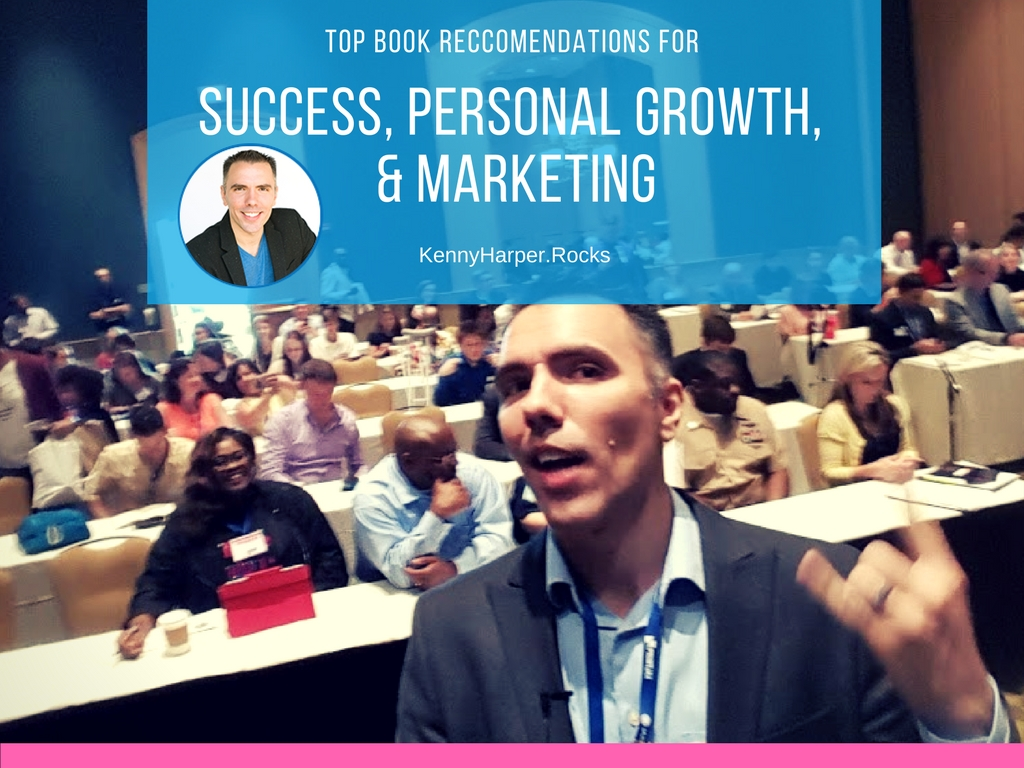 Top book recommendations for success, personal growth and marketing