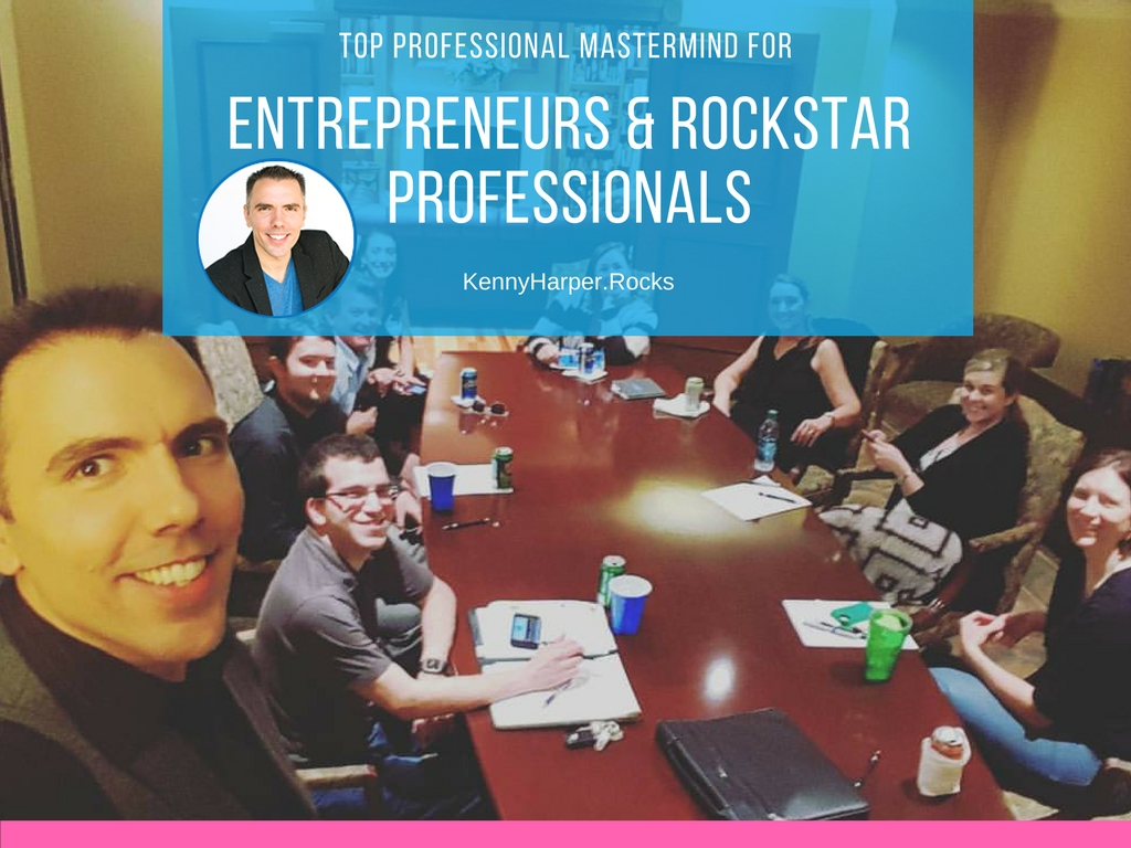 Top professional mastermind for entrepreneurs and rockstar professionals