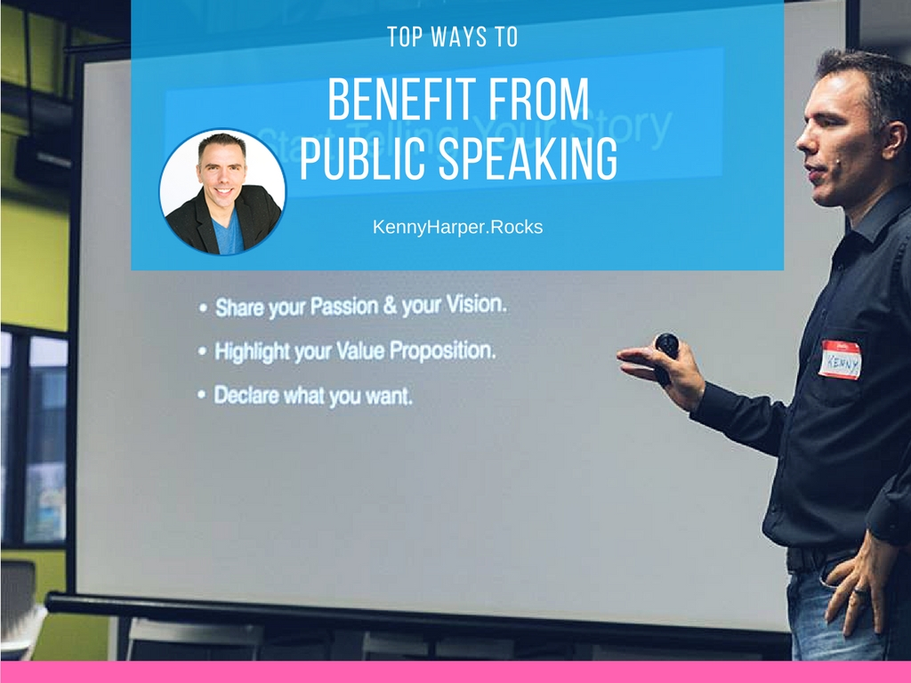 Top ways to benefit from public speaking