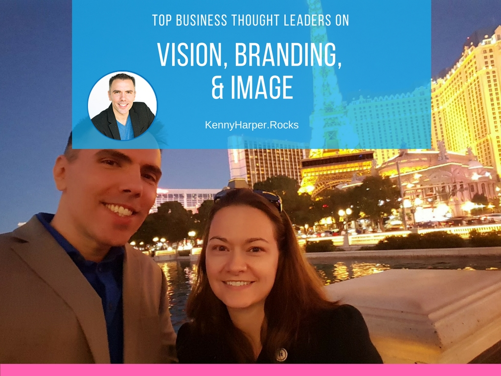 Top business thought leaders on vision, branding and image
