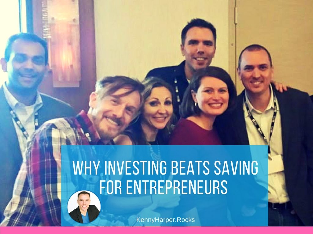 Why investing beats saving for entrepreneurs