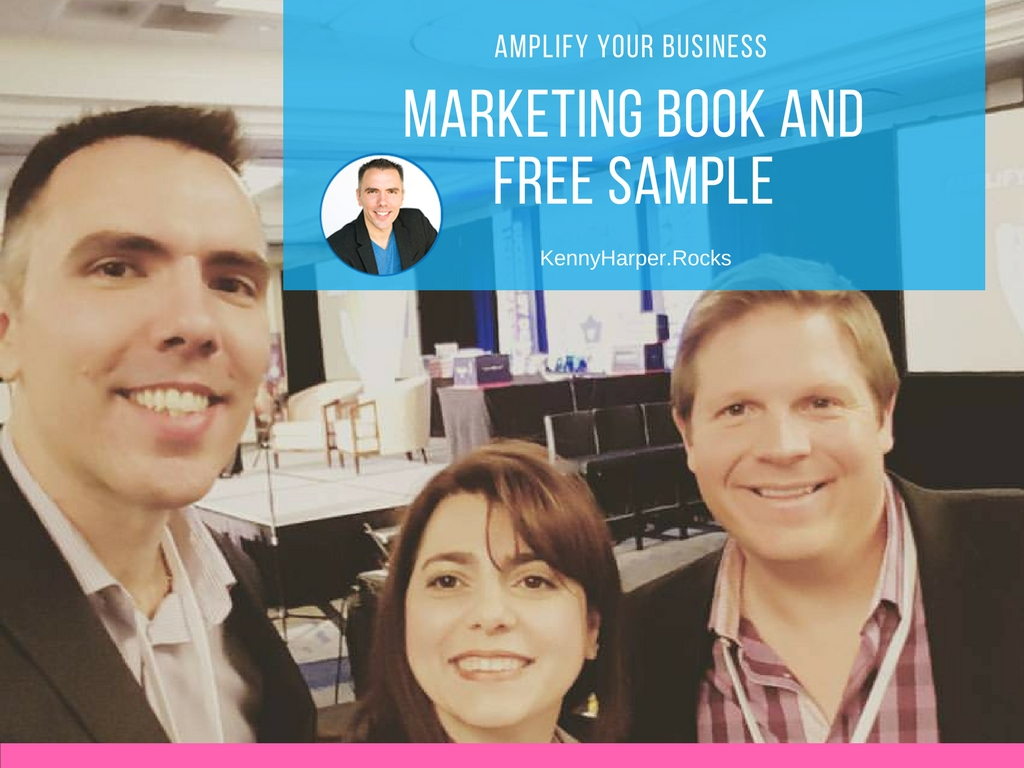 Amplify your business marketing book and free sample