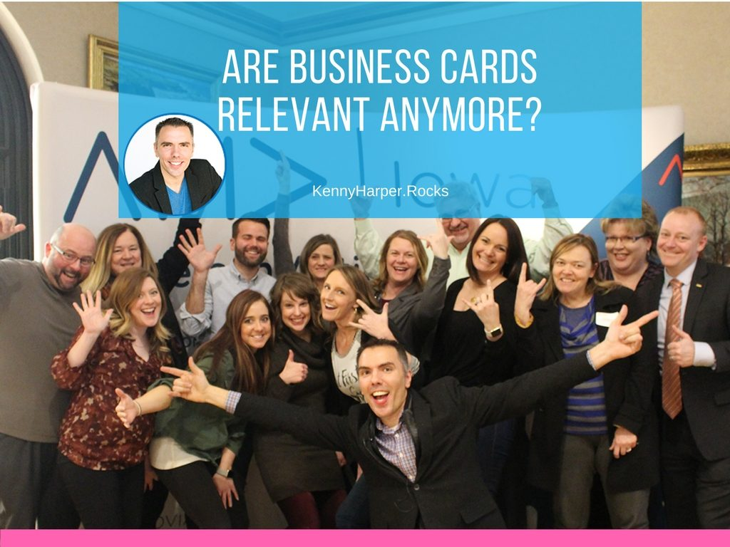 Are Business Cards Relevant Anymore- Not Really...Well Yes!