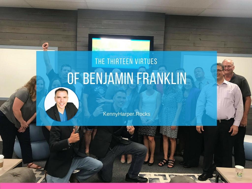 The 13 Values of Benjamin Franklin