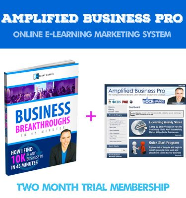 Amplified Business Pro - 2 Month Trial
